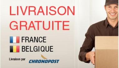 Livraison gratuite en france et belgique