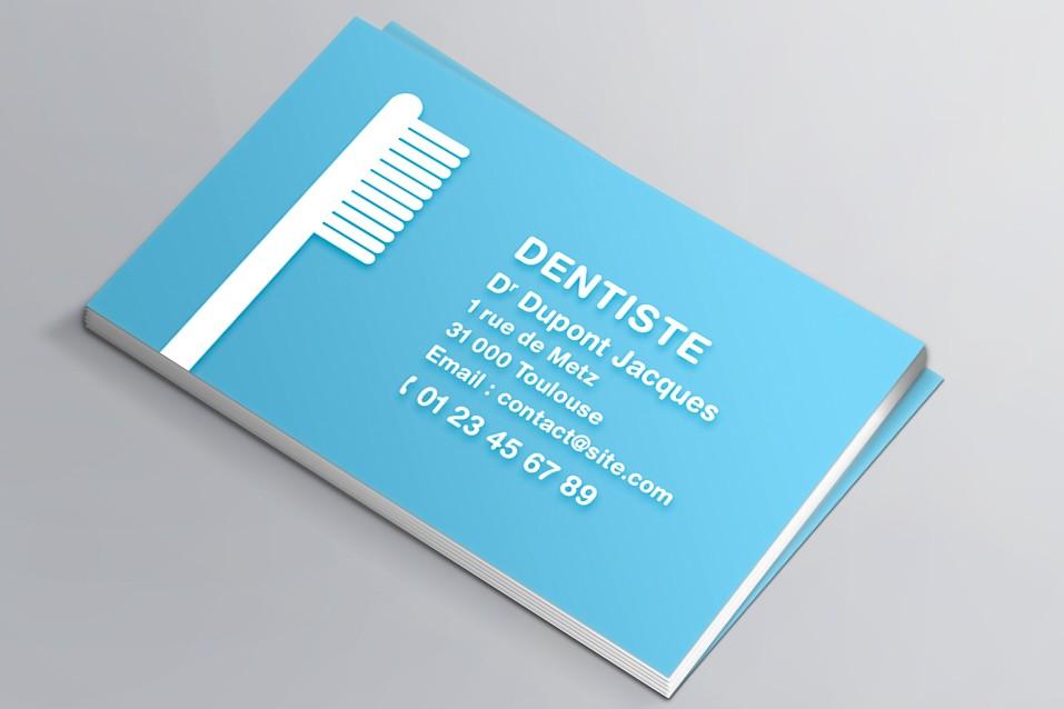 Cartes Visite Pour Chirurgien Dentiste